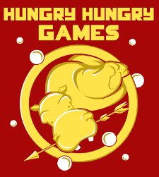 hungry hungry games t shirt1 Hungry Hippo Hunger Games Hungry Hungry Games T Shirt from Snorg Tees