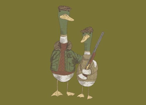 hunting ducks t shirt Top 50 Funny Threadless T Shirts