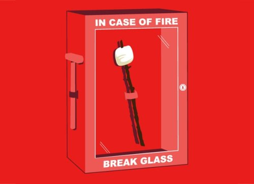 in case of fire break glass t shirt Top 50 Funny Threadless T Shirts