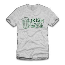 irish i were drunk t shirt Irish I Were Drunk T Shirt from Five Finger Tees