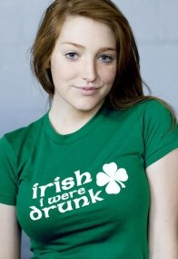 irish i were drunk t shirt1 Irish I Were Drunk T Shirt from Busted Tees