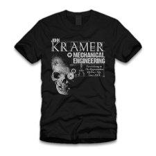 john kramer mechanical engineering t shirt John Kramer Mechanical Engineering T Shirt from Five Finger Tees