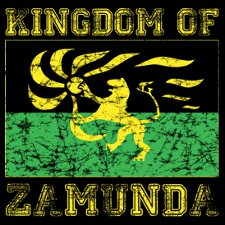 kingdom of zamunda t shirt Coming to America Kingdom of Zamunda T Shirt from Donkey Tees