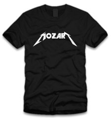mozart t shirt Metallica Mozart T Shirt from Five Finger Tees