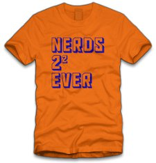 nerds 4 ever t shirt Nerds 4 Ever T Shirt from Five Finger Tees