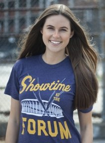 showtime at the forum t shirt Los Angeles Lakers Showtime at the Forum T Shirt from Busted Tees
