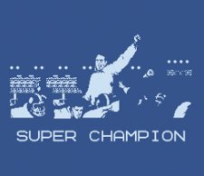 super champion t shirt Tecmo Super Champion T Shirt from Busted Tees