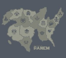 the nation of panem t shirt Hunger Games Panem T Shirt from Busted Tees