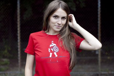 16 captain canada Top 32 Busted Tees T Shirts