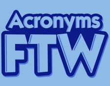 acronyms ftw t shirt Acronyms FTW T Shirt from Snorg Tees