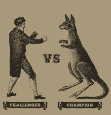 challenger vs champion t shirt Challenger Vs. Champion T Shirt