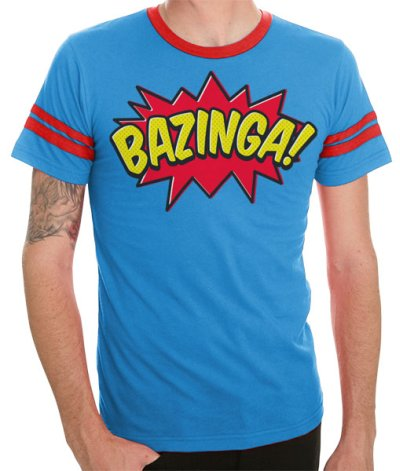 comic book bazinga t shirt The Big Bang Theory Comic Book Bazinga T Shirt From TV Store Online