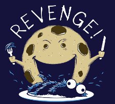 cookie monster revenge t shirt Cookie Monster Revenge T Shirt from Snorg Tees