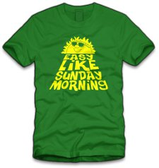 easy like sunday morning t shirt Lionel Richie Easy Like Sunday Morning T Shirt from Five Finger Tees