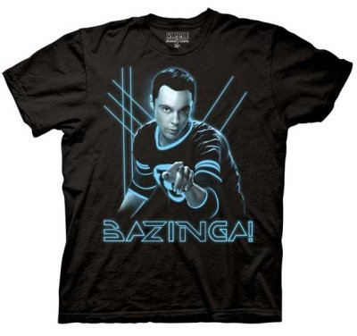 glowing sheldon bazinga t shirt 60 Best The Big Bang Theory T Shirts
