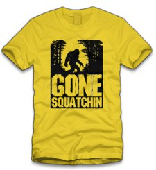 gone squatchin t shirt Gone Sausquatchin T Shirt From Five Finger Tees