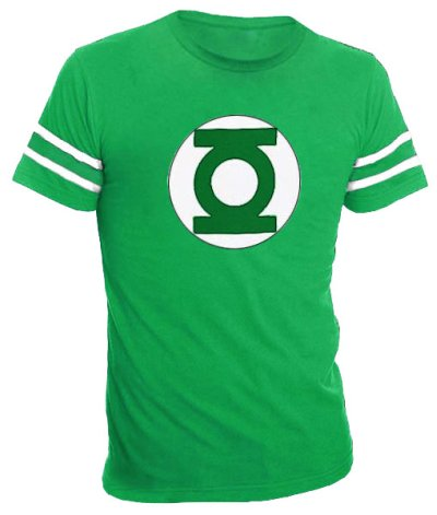 green lantern stiped sleeves t shirt 60 Best The Big Bang Theory T Shirts