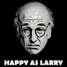 happy as larry t shirt Larry David Happy as Larry T Shirt from Red Bubble