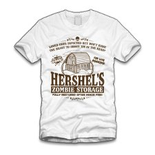 hershels zombie storage t shirt The Walking Dead Hershels Zombie Storage T Shirt from Five Finger Tees