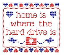home is where the hard drive is t shirt Home is Where the Hard Drive Is T Shirt From Snorg Tees