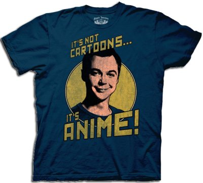 its not cartoons its anime t shirt 60 Best The Big Bang Theory T Shirts