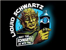 liquid schwartz t shirt Space Balls Liquid Schwartz T Shirt from Tshirt Bordello