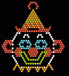 lite brite clown t shirt Lite Brite Clown T Shirt from Busted Tees