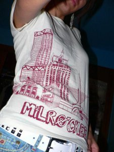 milrockee t shirt Milrockee T Shirt from Too Much Rock for One Hand