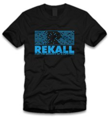 rekall t shirt Total Recall Rekall T Shirt From Five Finger Tees
