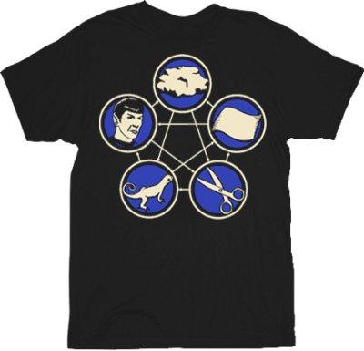 rock paper scissors lizard spock t shirt 60 Best The Big Bang Theory T Shirts