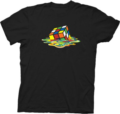 rubiks cube melting t shirt 60 Best The Big Bang Theory T Shirts