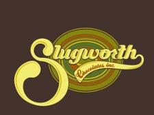 slugworth chocolate t shirt Charlie and the Chocolate Factory Slugworth Chocolate T Shirt from Busted Tees