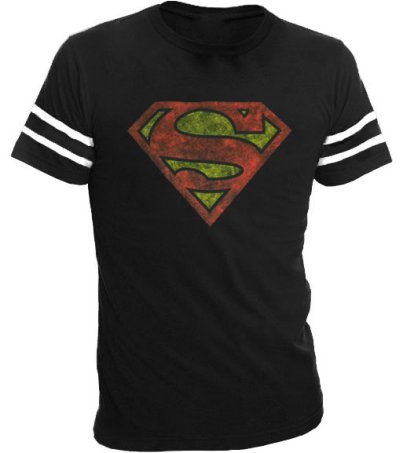 superman t shirt Superman Distressed T Shirt from TV Store Online