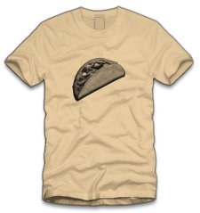 viva la taco t shirt Viva La Taco T Shirt from Five Finger Tees