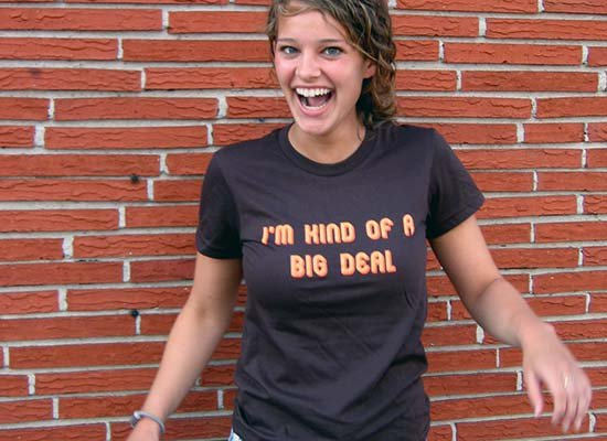 alice fraasa im kind of a big deal t shirt Snorg Tees Models