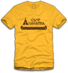 camp anawanna t shirt Salute Your Shorts Camp Anawanna T Shirt from Five Finger Tees