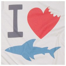 i heart sharks t shirt I Heart Sharks T shirt from PalmerCash