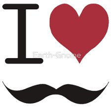i love mustaches t shirt I Heart Mustaches T Shirt from Red Bubble