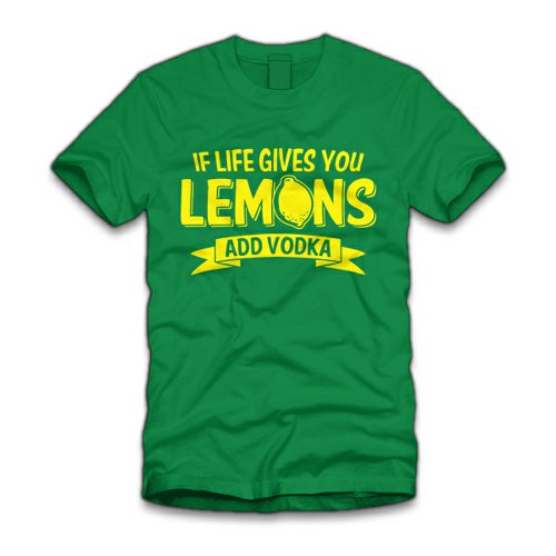 if life gives you lemons add vodka t shirt If Life Gives You Lemons Add Vodka T Shirt from Five Finger Tees