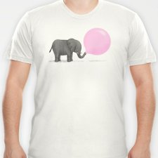 jumbo bubble gum t shirt Jumbo Bubble Gum T Shirt from Threadless