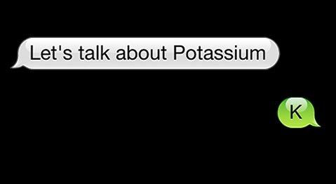 lets talk about potassium t shirt Lets Talk About Potassium K T Shirt from T Shirt Hell