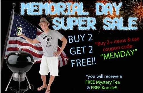 memorial day sale 2012 Donkey Tees Memorial Day Sale Buy 2 Get 2 Free