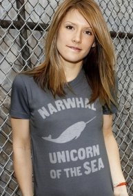 narwhal unicorn of the sea t shirt Narwhal Unicorn of the Sea T Shirt from Busted Tees