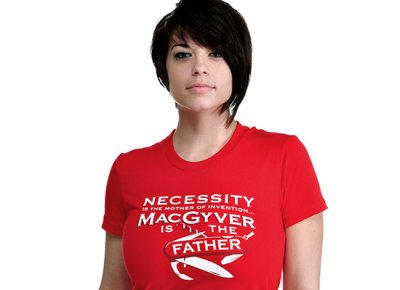 ncessity is the mother of invention t shirt Funny Mother Shirts for Mothers Day