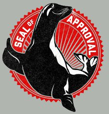 seal of approval t shirt Seal of Approval T Shirt from Snorg Tees