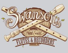 swansons flutes and recorders t shirt Parks & Recreation Ron Swansons Hand Carved Flutes and Recorders T Shirt from Snorg Tees