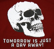 tomorrow is just a day away t shirt A Softer World   Tomorrow is Just a Day Away T Shirt from Topatoco
