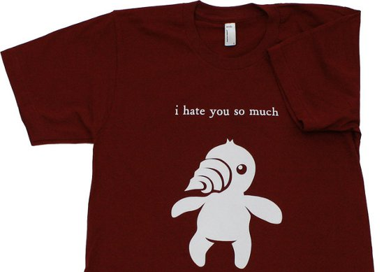 topatoco diggle i hate you so much t shirt Diggle I Hate You So Much T Shirt from Topatoco