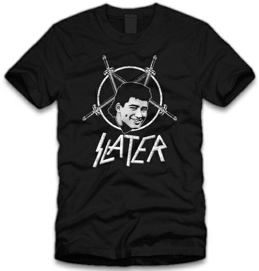 christian slater t shirt Saved By the Bell Slater Slayer T Shirt