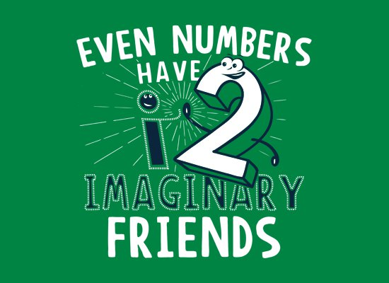 even numbers have imaginary friends t shirt Even Numbers Have Imaginary Friends T Shirt from Snorg Tees